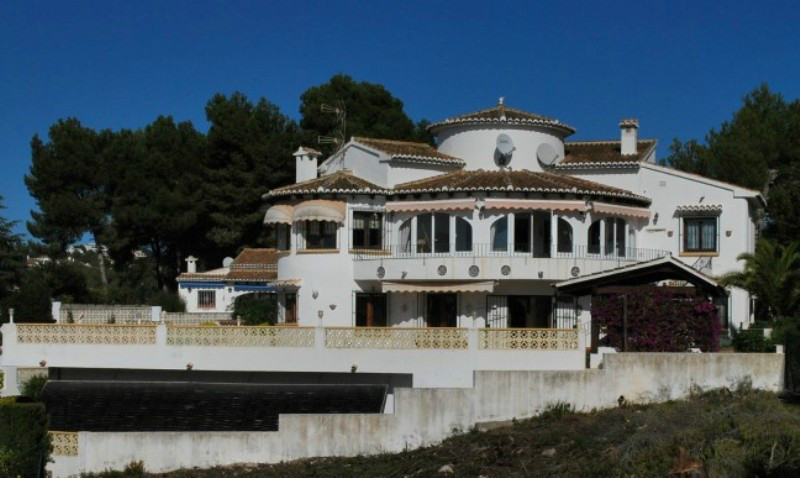 Villas for sale in el portet moraira - Villa el portet ...