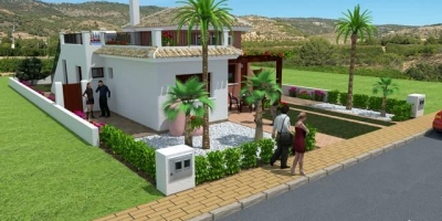 New build villas in Los Alcazares
