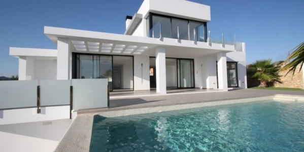 New build villas in Calpe