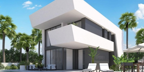 New build villas in La Marina