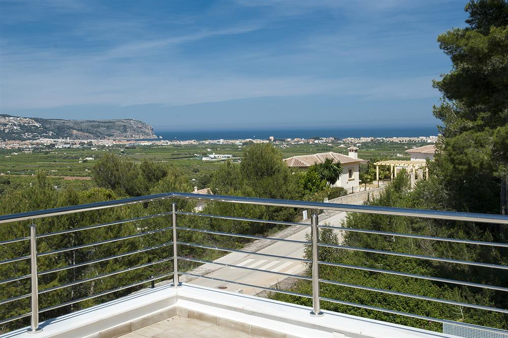 Sea view, new build villa for sale in Javea