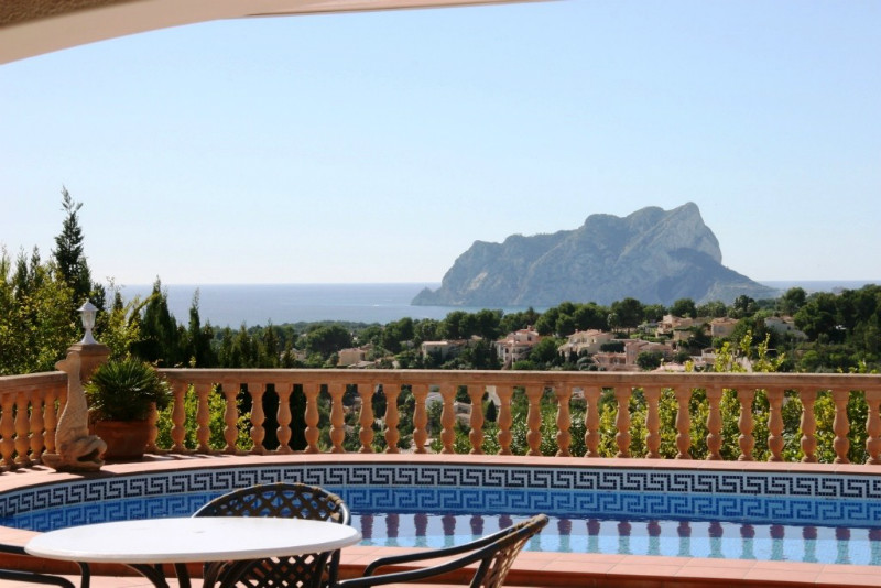 Villa for sale in Benissa, sea views