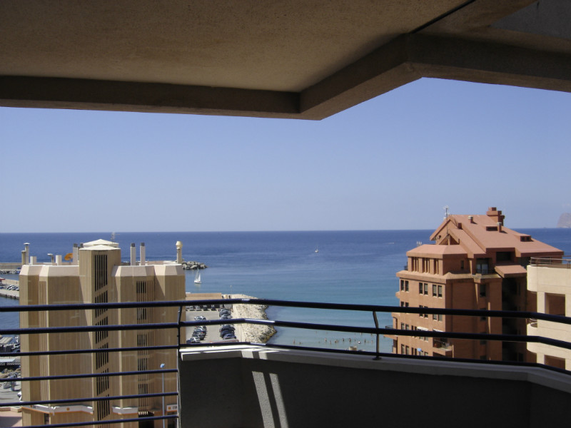 Apartment for sale in Calpe, sea views
