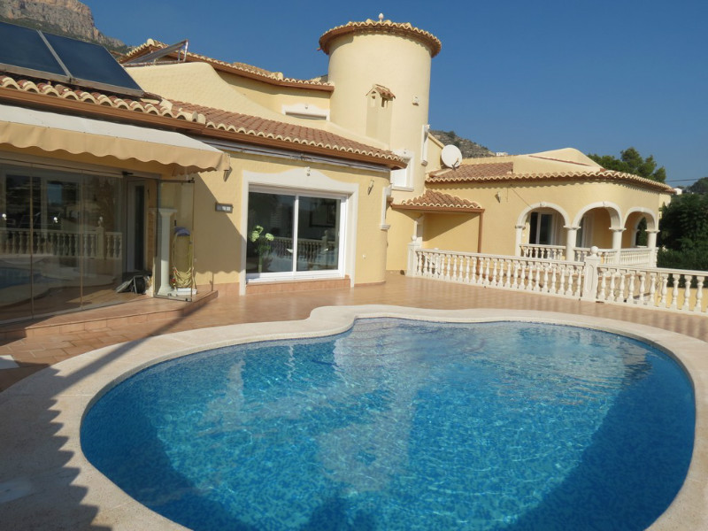Villas for sale La Canuta, Calpe