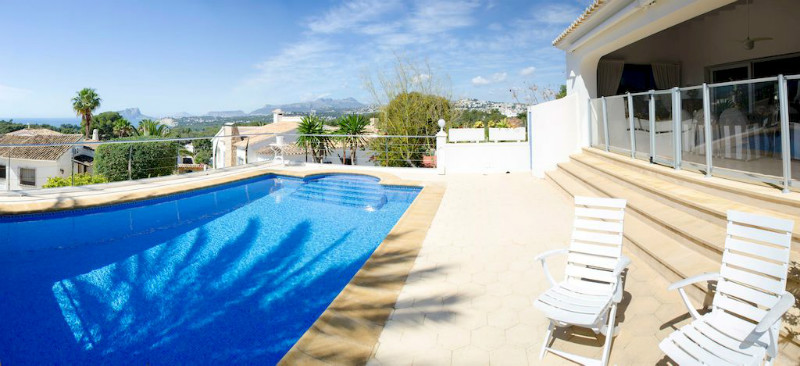 Villas for sale in Moraira, sea views
