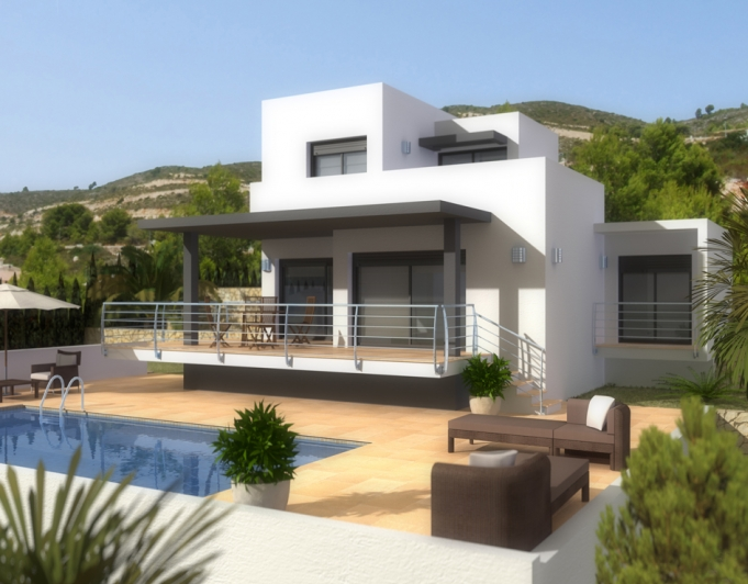 New build villas For Sale in Murla, Alicante