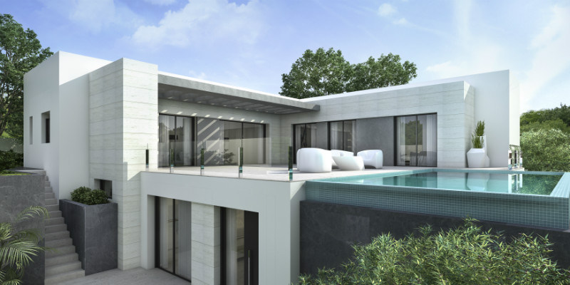 New build villas for sale in Moraira