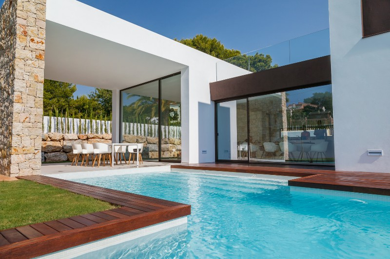 New Build in Moraira La Cometa