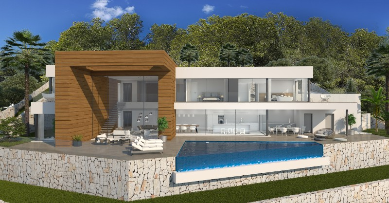 New build Villa in Moraira Arnella