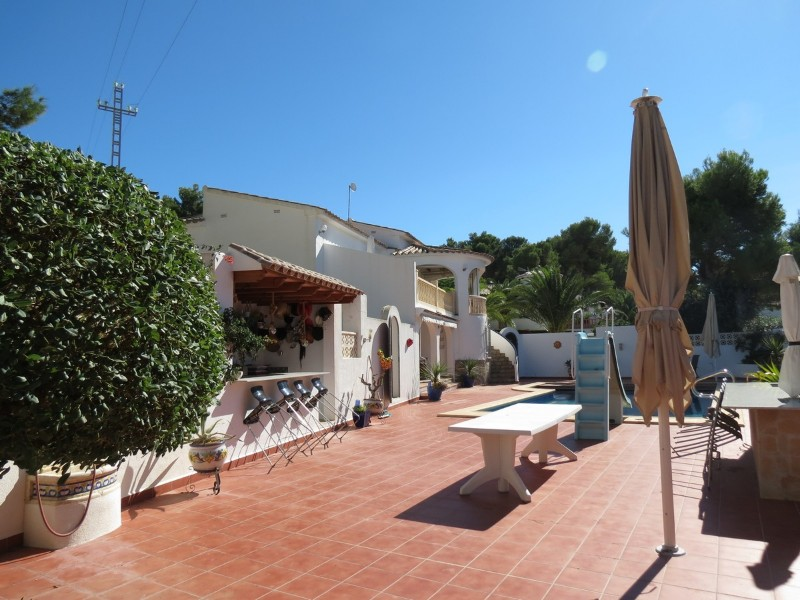 New Build in Moraira Cap Blanc