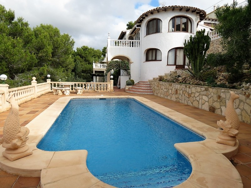 New Build in Moraira Paichi