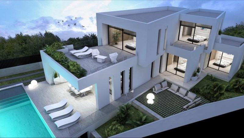 New build Villa For Sale in Moraira, Alicante