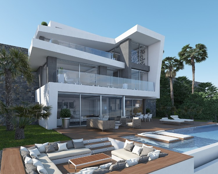 New build Villa in Javea Granadella
