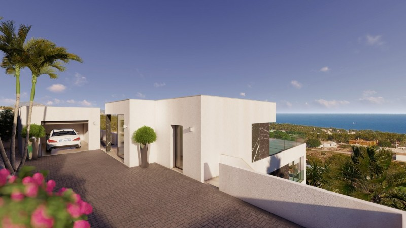 New build Villa in Calpe Gran Sol