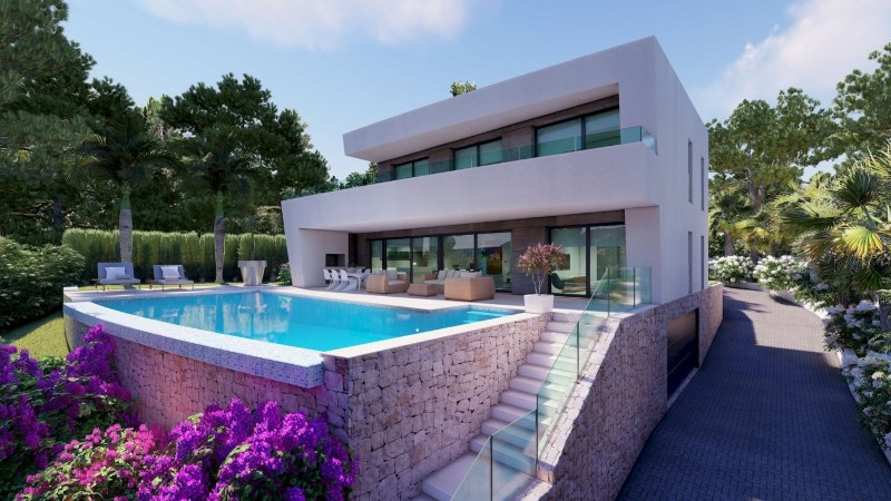 New build Villa in Moraira Benimeit