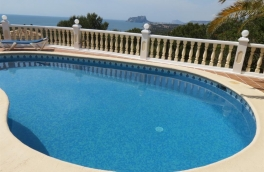 Villa for sale in El Portet, amazing sea views
