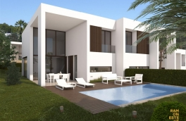 Modern villas for sale in Moraira