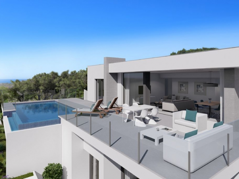 Villa For New build in Cumbre Del Sol, Alicante