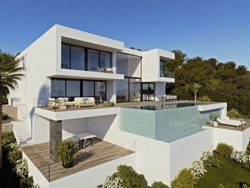 New build Villa For Sale in Cumbre Del Sol, Alicante