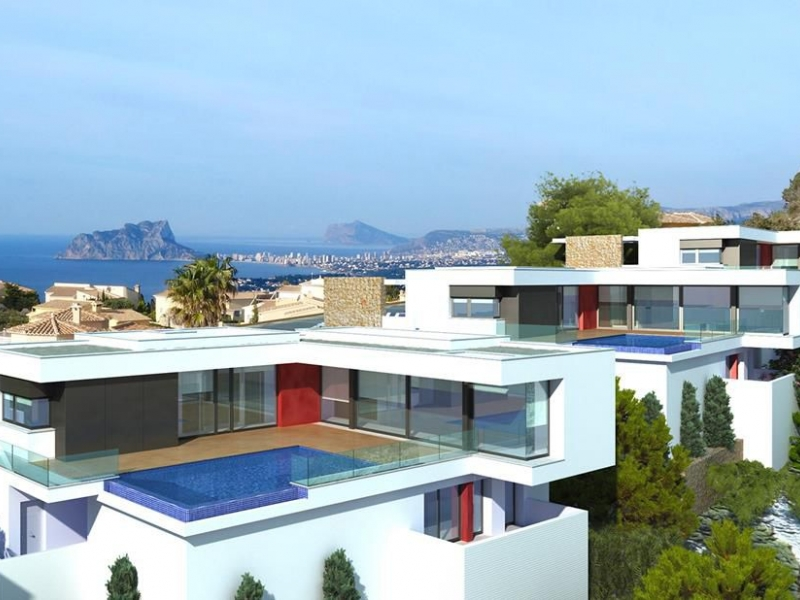 Villa For Sale in Cumbre Del Sol, Alicante
