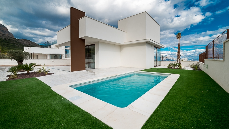 Villa For Sale in Polop, Alicante