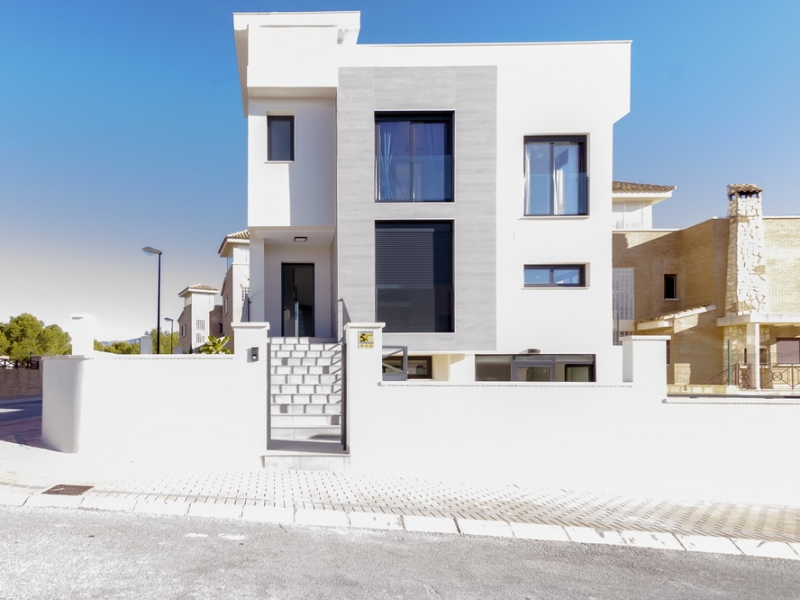 New build Villa For Sale in La Nucia, Alicante