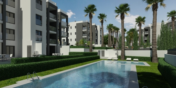 New Build Apartment in Villamartin Golf