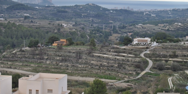 Land for building in Benissa