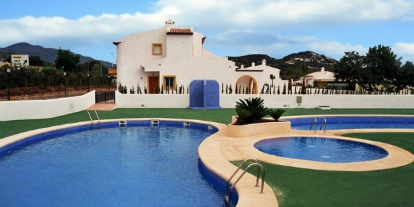 Semi-Detached Villa in Calpe