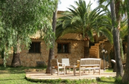 Finca style villa with sea view for sale in Benissa