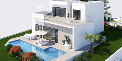 New build villas in Benissa