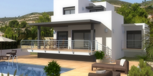 New build Villa in Murla