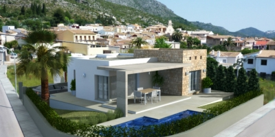 New build villas in Tormos