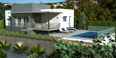 New build villas in Orba