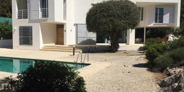 New build villas in El Portet