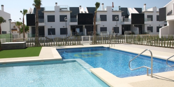 New build bungalow in Torre de la Horadada