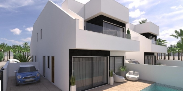 New build villas in Mar Menor
