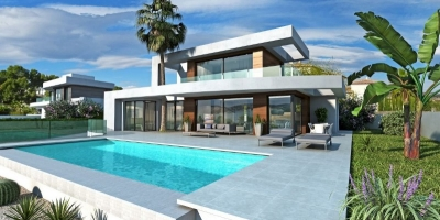 New build villas in Camaroccha