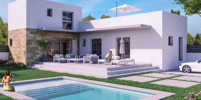 New build villas in Daya Vieja