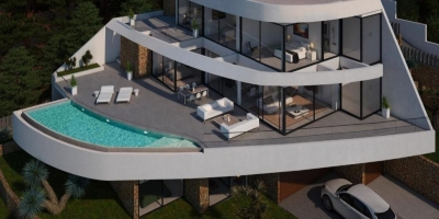 New build villas in Altea