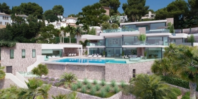 New build Villa in Cap Blanc